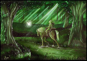 Faron woods by arumise