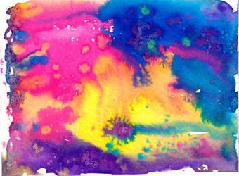 rainbow nebula by arumise
