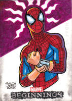 Spiderman Marvel Beginnings by JASONS21