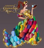 Princess Grenadine Rose by NovellineArt