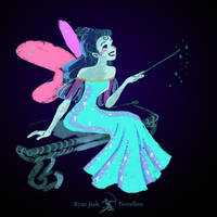 The Blue Fairy | Video Tutorial by NovellineArt