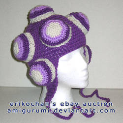 Purple Katamari Hat  -FS- by amigurumi