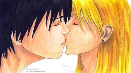 Our kiss. by VeIra-girl