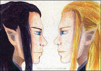 Legolas VS Legolas. by VeIra-girl
