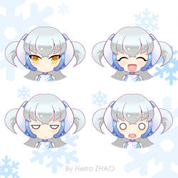 Facial Expression Design for Midea by herroaya