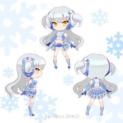 Character Design for Midea by herroaya