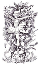 Christmas Card for Xia by herroaya