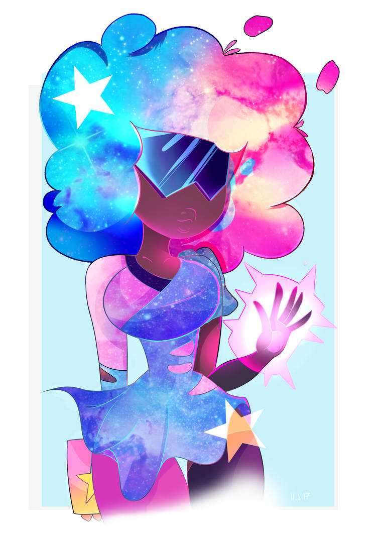 Ahh, I'm super anxious to upload this, but I might as well ;w;! I haven't drawn what I actually wanted to in ages, so I gave Cotton Candy Garnet a shot, to y'know, feel better owo. Oh my God please...