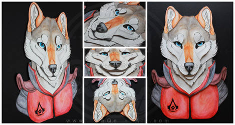 Effigy of a Warrior - By SaQe by Darkflame-wolf