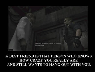 Wesker - Birkin - Best friends by Konoko88