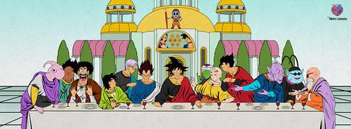 The Last Supper Dragon Ball by Alrocknroll