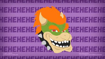 Bowser Troll Face by Alrocknroll