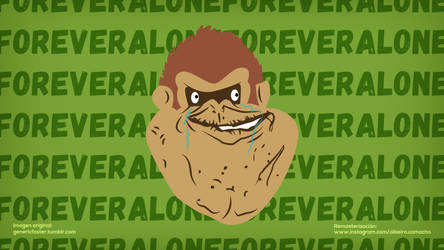 DK Forever Alone by Alrocknroll