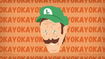 Luigi Okay by Alrocknroll