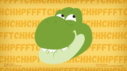 Yoshi PFFTCHHCHH by Alrocknroll