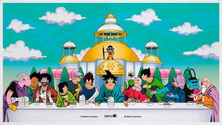 The Last Supper Dragon Ball 2.0 by Alrocknroll