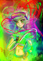 Electric Rainbow by Whitealone