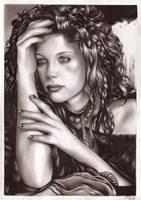 Liv Tyler Portrait 2 by Snow-Owl