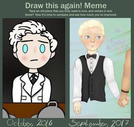 Draw This Again Meme - William by Fermink