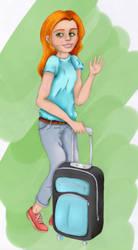 Ginger girl by Fermink