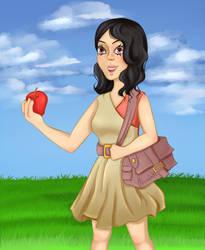 Kenny's apple by Fermink