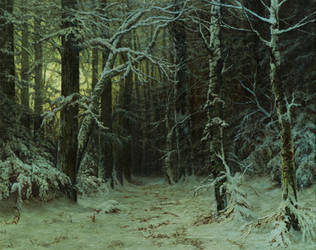 Winterforest by MHandt