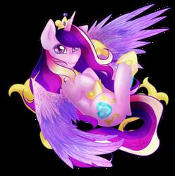 Princess Cadance by snowdeer97