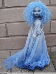 monster high custom doll, daughter of hades by Rach-Hells-Dollhaus