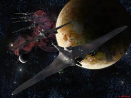Sigmari Battle Ray Transport by ILJackson