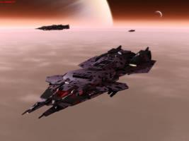 Sabre Class Assault Frigate by ILJackson