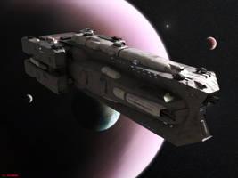Damocles Class Battlecruiser by ILJackson
