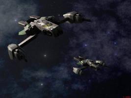 Nephilim Strike Ship by ILJackson