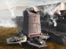 ComidaTech Enterprises Landing Pad by ILJackson