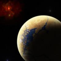 Planet Theseus by ILJackson