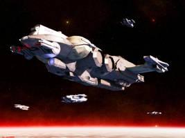 Xintrin War Galleon by ILJackson