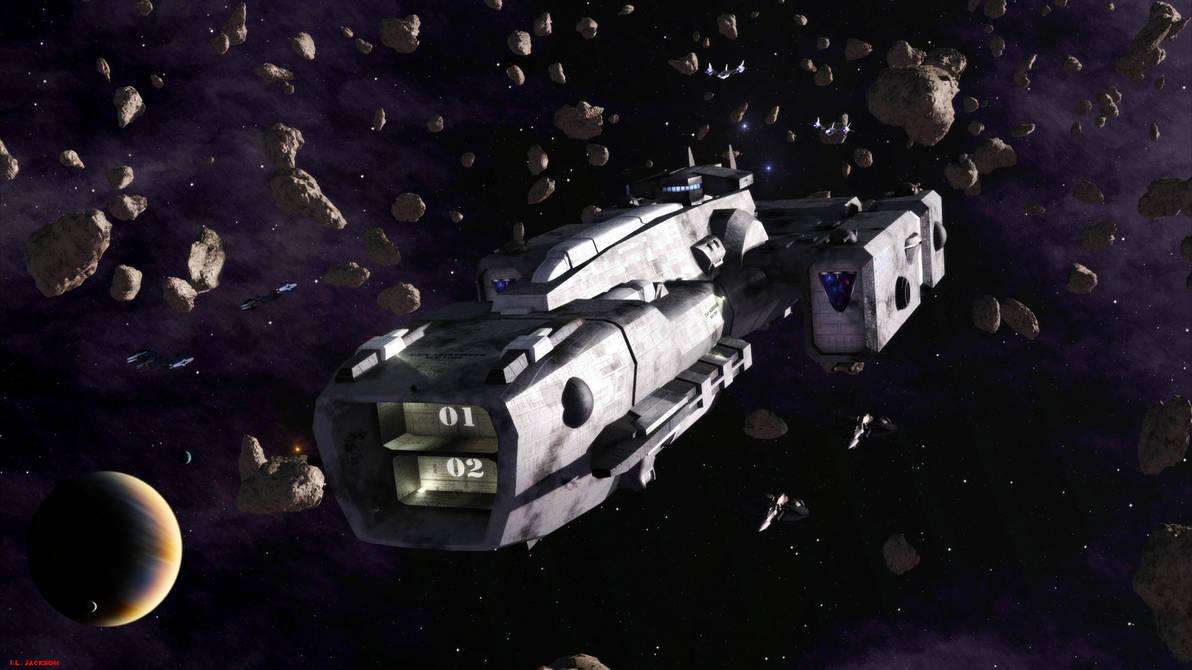 Skirmisher Class Carrier by ILJackson