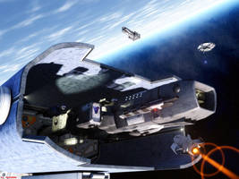 Skirmisher in Spacedock by ILJackson