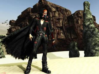 Victor the Psi Druid by ILJackson