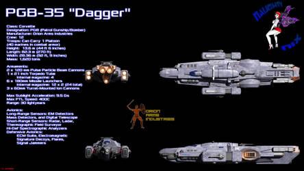Dagger Class Corvette Ortho by ILJackson