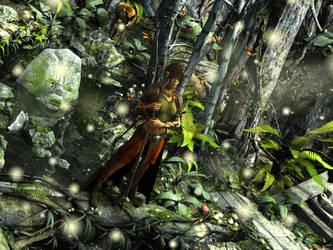 The Swamp Druid by ILJackson
