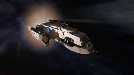 Shinobi-Class Blockade Runner by ILJackson
