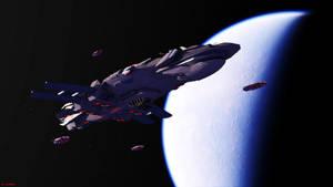 Proteus Battlecarrier by ILJackson
