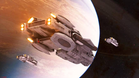 The dreadnaught and the Giant by ILJackson