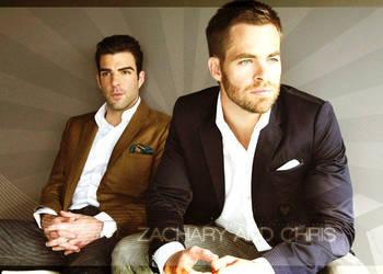 Zach y Chris by lovemysoccerplayer