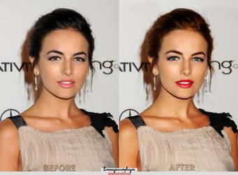 Make up Camilla Belle by lovemysoccerplayer
