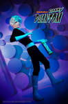 Danny Phantom cosplay purple by KoujiAlone