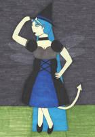 Witch Suzette by charreddragonchi