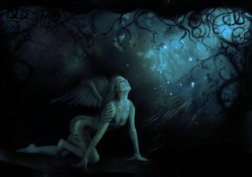 Fallen angel by gfxglobe