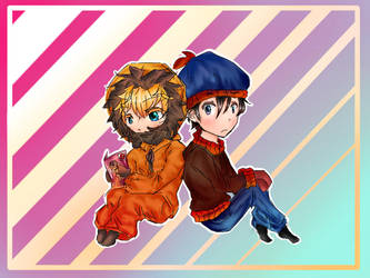South Park - Stenny  by Just-another-kitteh