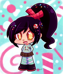 Wreck-it Ralph - Vanellope by KawaiiRebichan